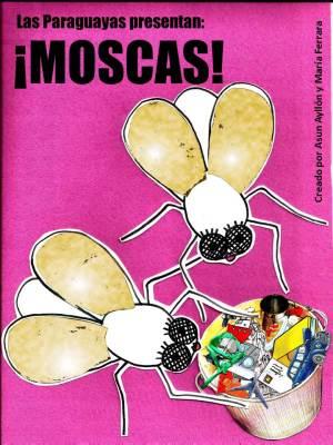 cartel moscas grande