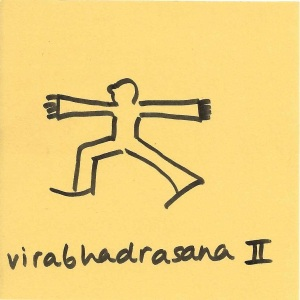 virabhadrasana II